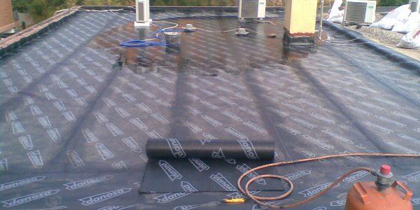 rehabilitacion e impermeabilizacion de terraza intransitable invertida