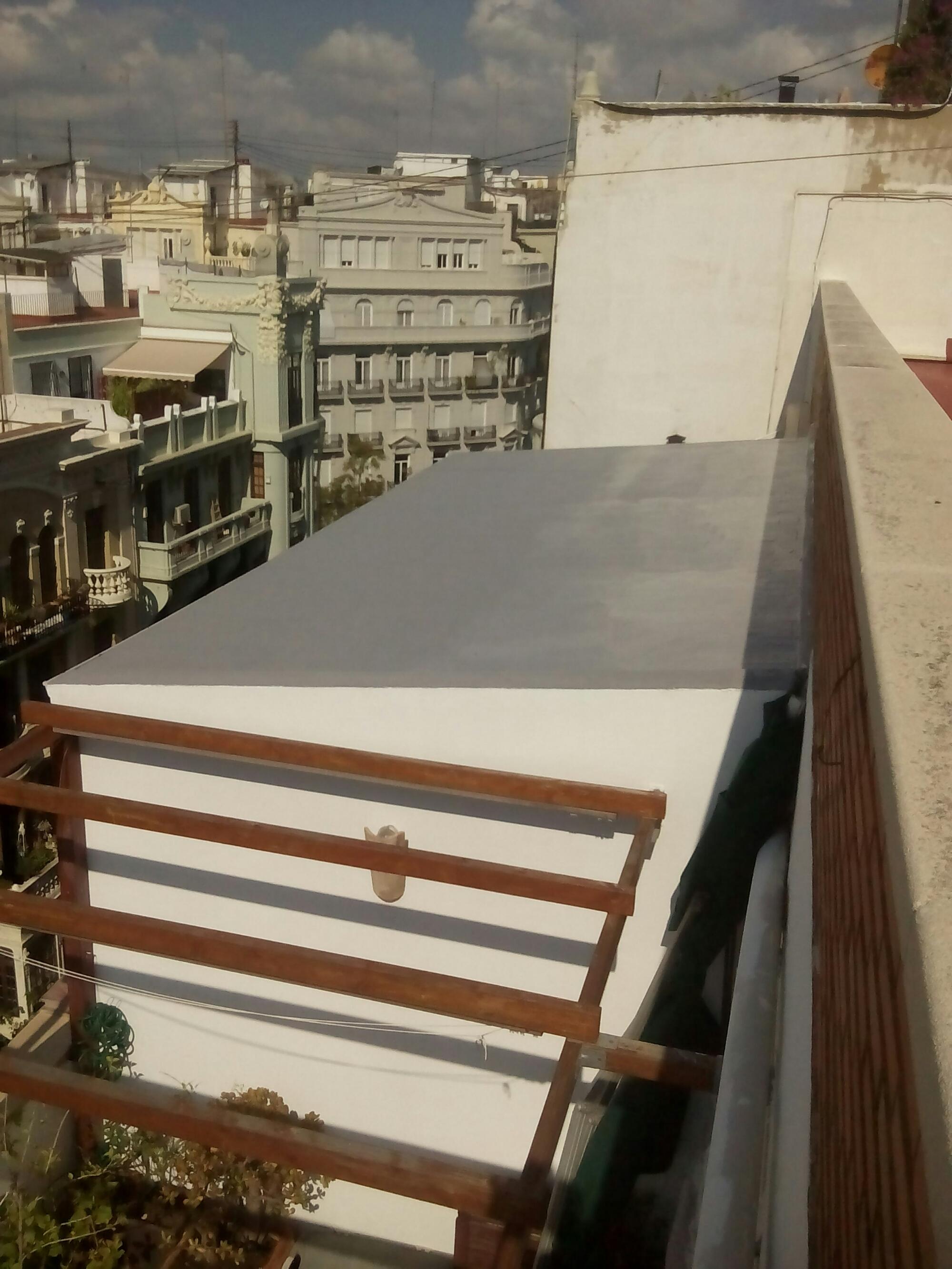 Impermeabilizaci n de tejado en valencia - Caucho para tejados ...