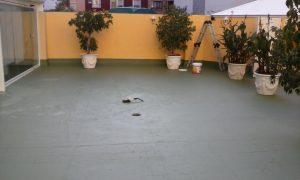 Reparacion e impermeabilizacion de terraza privada