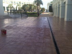 Impermeabilizacion terraza Hotel las Arenas